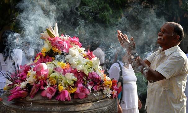 the Wesak festival in Kelaniya